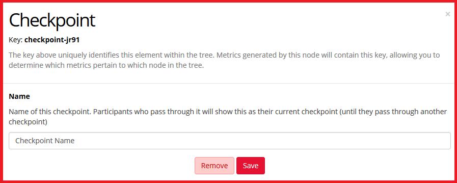 Checkpoint node config menu image